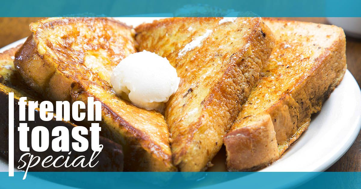 pancake or french toast special
